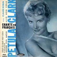 Cover Petula Clark & Claude Robin - Allô mon cœur