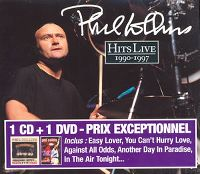 Cover Phil Collins - Hits Live 1990-1997