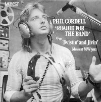 Cover Phil Cordell - Roadie For The Band