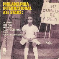 Cover Philadelphia International All Stars - Let's Clean Up The Ghetto