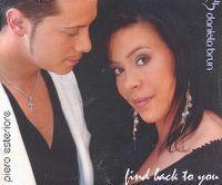Cover Piero Esteriore & Daniela Brun - Find Back To You