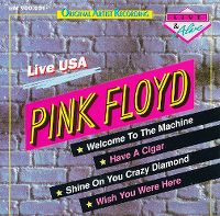 Cover Pink Floyd - Live USA