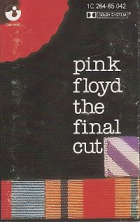 Cover Pink Floyd - The Final Cut