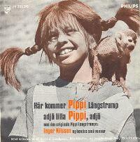 Cover Pippi Långstrump - Här kommer Pippi Långstrump