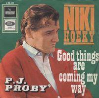 Cover P.J. Proby - Niki Hoeky