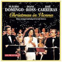 Cover Plácido Domingo / Diana Ross / José Carreras - Christmas In Vienna