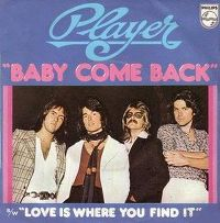 Cover Player - Baby Come Back