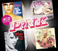 Cover P!nk - 4CD Boxset