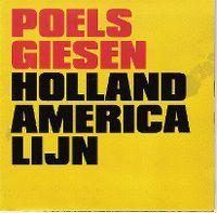 Cover Poels / Giesen - Holland America Lijn