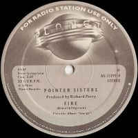 Cover Pointer Sisters - Fire