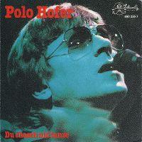 Cover Polo Hofer - Du chasch nid tanze