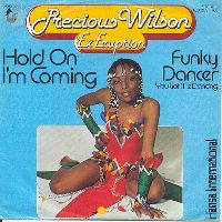 Cover Precious Wilson - Hold On I'm Coming