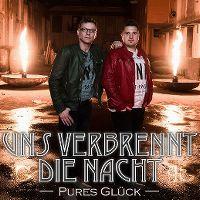 Cover Pures Glück - Uns verbrennt die Nacht