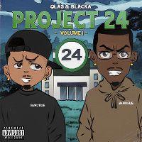 Cover Qlas & Blacka - Project 24 - Volume 1