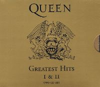 Cover Queen - Greatest Hits I & II
