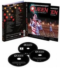 Cover Queen - Hungarian Rhapsody - Queen Live In Budapest