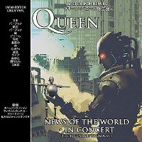 Cover Queen - News Of The World In Concert
