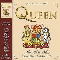 Cover Queen - Now We're Here - Estadio José Amalfitani 1981