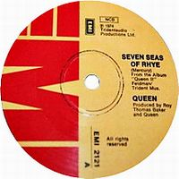 Cover Queen - Seven Seas Of Rhye