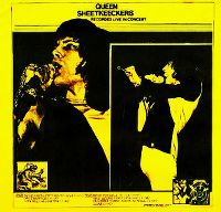 Cover Queen - Sheetkeeckers - Recorded Live In Concert
