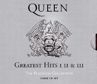 Cover Queen - The Platinum Collection - Greatest Hits I, II & III