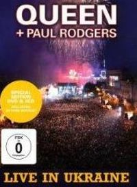 Cover Queen + Paul Rodgers - Live In Ukraine