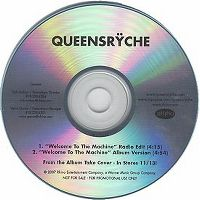 Cover Queensrÿche - Welcome To The Machine