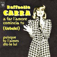 Cover Raffaella Carrà - A far l'amore comincia tu (Liebelei)