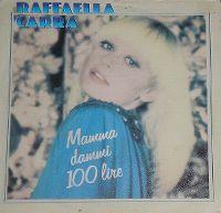 Cover Raffaella Carrà - Mamma dammi 100 Lire