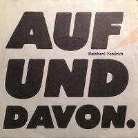 Cover Rainhard Fendrich - Auf und davon