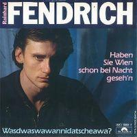 Cover Rainhard Fendrich - Haben Sie Wien schon bei Nacht geseh'n