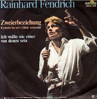 Cover Rainhard Fendrich - Zweierbeziehung