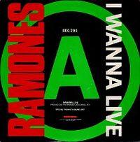 Cover Ramones - I Wanna Live