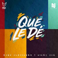 Cover Rauw Alejandro y Nicky Jam - Que le dé
