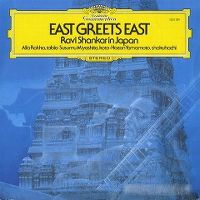 Cover Ravi Shankar - East Greets East - Ravi Shankar In Japan