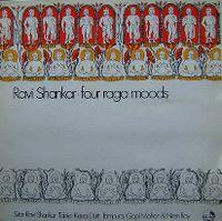 Cover Ravi Shankar - Four Raga Moods