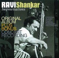 Cover Ravi Shankar - Improvisations