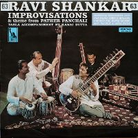 Cover Ravi Shankar - Improvisations And Theme From Pather Panchali