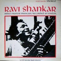 Cover Ravi Shankar - India's Master Musician / Recorded In London