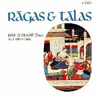 Cover Ravi Shankar - Music Of India - Rāgas And Tālas
