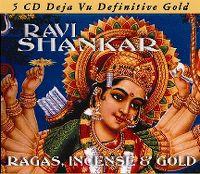Cover Ravi Shankar - Ragas, Incense & Gold