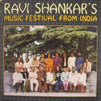 Cover Ravi Shankar - Ravi Shankar's Music Festival From India
