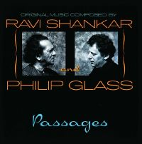 Cover Ravi Shankar & Philip Glass - Passages