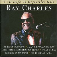 Cover Ray Charles - 5 CD Deja Vu Definitive Gold