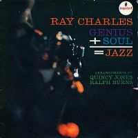 Cover Ray Charles - Genius + Soul = Jazz
