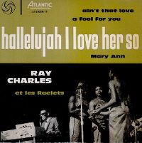 Cover Ray Charles - Hallelujah I Love Her So