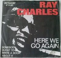 Cover Ray Charles - Here We Go Again