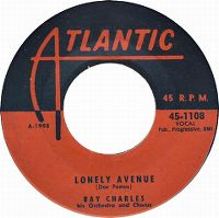 Cover Ray Charles - Lonely Avenue