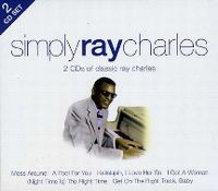 Cover Ray Charles - Simply Ray Charles - 2 CDs Of Classic Ray Charles