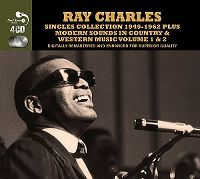 Cover Ray Charles - Singles Collection 1949-1962 Plus Modern Sounds In Country & Western Music Volume 1 & 2